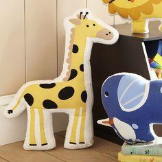 Found it at Wayfair - Giraffe Ark Pillow