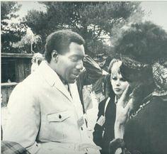 LOVE LOVE LOVE <3 <3 <3 Otis Redding, Jimi Hendrix at Monterey Pop Festival. 1967