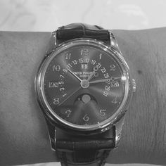 Day 3 b&w challenge is a rare PP 5050J with a Grey dial & Breguet numerals limited 10 pcs made.
