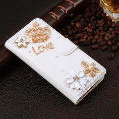 Diamond Bowknot Flower Case Coque For apple iphone Case Rhinestone Wallet Stand Flip PU Leather Cover Card Slot Phone Bag Leather Cover, Pu Leather, Leather Wallet, J7 Prime Case, Leather Cell Phone Cases, Iphone 5c Cases, Apple Iphone 5, Mobile Cases, Iphone Models