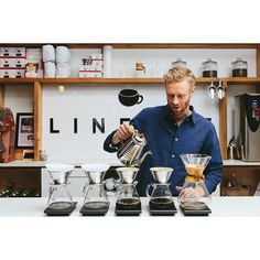 """""""@lineagecoffeeroasting changed the way I see coffee. I would've told you I was a coffee person having worked in local shops in Tallahassee for years during college but Lineage truly opened my eyes to what a good coffee could and should be. Jarrett and the rest of the crew won me over with their kindness and non-pretentious approach to educating customers way back when they were just set up at the Stardust Farmers Market so I love seeing how far they've come. They deserve all of the praise…"""