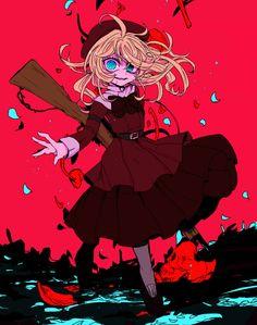 Anime : Youjo Senki ( Tanya Von Degurechaff )