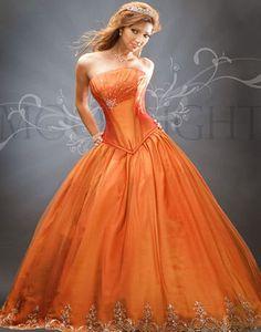 Orange dress image by dracosgirl2 on Photobucket
