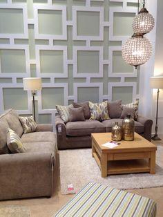 Greige living room Living Room Shared Spaces Pinterest