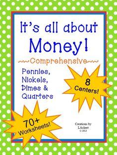 Free Math Money Worksheets