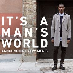 Let's do this. NYFW: Men's is coming in July. #NYFWM