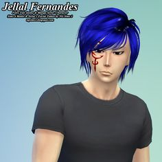 NG Sims 3: Jellal Fernandes - TS4 Sims & Make-up