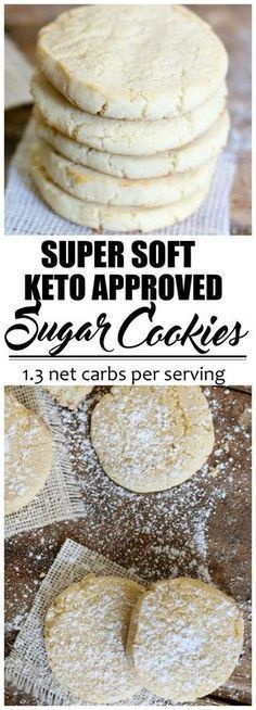 Keto Fathead Sugar Cookies - Fathead dough is a popular low carb dough that has . - Keto Fathead Sugar Cookies - Fathead dough is a popular low carb dough that has revolutionized pizza. It is used in many savory and sweet applications. Keto Cookies, Cookies Et Biscuits, Low Sugar Cookies, Keto Cookie Dough, Low Carb Cookie, Healthy Sugar Cookies, Low Carb Sugar Cookie Recipe, Keto Peanut Butter Cookies, Pecan Cookies