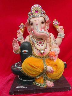 Lord Shri Ganesh Lord Ganesha, Lord Shiva, Ganesh Statue, Shree Ganesh, Ganpati Bappa, Om Sai Ram, God Pictures, Indian Gods, Hinduism