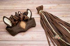 Pferd-Kostüm mit Kopfstück und Tail für Rollenspiel