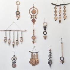 Heather Levine ceramic wall hangings // ESQUELETO
