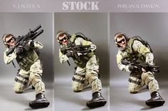 Important Note: Updated Stock Rules @ PhelanDavion  V.I.N.D.E.X Combat Soldier STOCK series no. 1 SOCOM GEAR+CIRAS & HK416+M203+M1911 The photographer is KaylaDavion  The model is Phe...