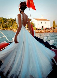 """Αέρινα νυφικά : """"d.sign by Dimitris Katselis"""" real bride . Μεταξωτή μουσελίνα σε συνδυασμό με τούλι και δαντέλα. Formal Dresses, Wedding Dresses, Ball Gowns, Bridal, Lady, Fairytale, Fashion, Weddings, Dresses For Formal"""