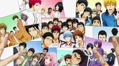 """Kuroko no Basuke/Kiyoshi Teppei """"The team is not only needed in order to protect it, it also protects you!"""""""
