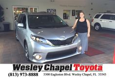https://flic.kr/p/FbztEL | Happy Anniversary to Vincent on your #Toyota #Sienna from Richard Jackson at Wesley Chapel Toyota! | deliverymaxx.com/DealerReviews.aspx?DealerCode=NHPF