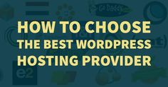 Need to know the basics of #WordPress web hosting? Find out what you need to know about choosing the right hosting company here.