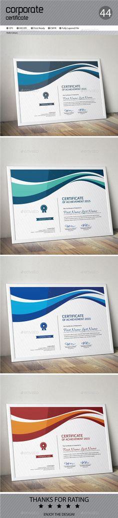 Certificate Template Vector EPS. Download here: http://graphicriver.net/item/certificate/13962933?ref=ksioks