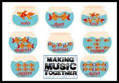 Solo, Duet, Trios, Quartets, etc. Chart