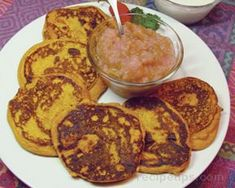Squash Griddle Cakes Recipe - also can use w sweet potato