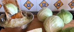 All you need to prepare Homemade Sauerkraut is white cabbage, salt, and a crockpot. It is essential to use clean gadgets and a cleaned fermenting pot. Ww Recipes, Canning Recipes, Raw Food Recipes, Veggie Recipes, Slow Cooker Recipes, Mexican Food Recipes, Crockpot Recipes, German Recipes, Freezer Recipes