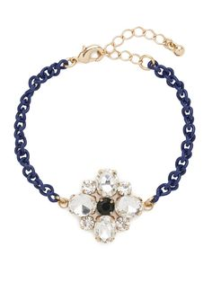 our new ice clover bracelet. so chic!