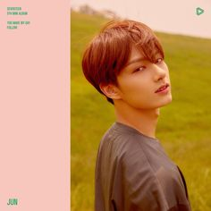 """Jun (준) is a Chinese singer, dancer, and actor under Pledis Entertainment. He is a member of the boy group SEVENTEEN and its performance team. Special singles """"Can You Sit Next to Me? Woozi, Jeonghan, Wonwoo, Seungkwan, Make My Day, You Make Me, Hip Hop, Mini Albums, Choi Hansol"""