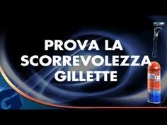 In store game con tecnologia touch screen che trasmette la scorrevolezza dei rasoi Gillette