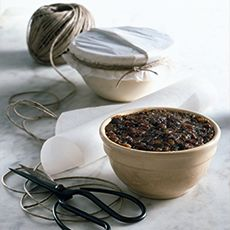 Traditional Christmas Pudding in IP, replace eggs for no-egg