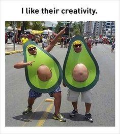 #1 Fat guy Avocado costumes
