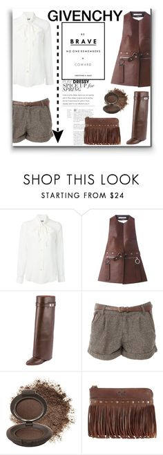 """""""GIVENCHY"""" by blueberry-cake ❤ liked on Polyvore featuring Moschino, Givenchy, Daphne, Becca Cosmetics and Patricia Nash"""