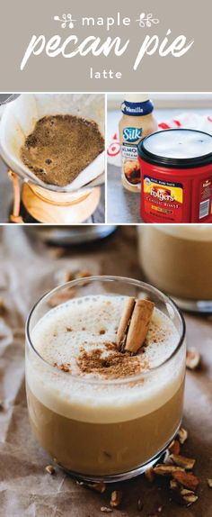 Who says you have to choose between a sweet treat and a coffee drink? Have the best of both worlds this winter with the help of Folgers® Classic Roast and Silk® Almond Coffee Creamer! Combining together to create this Maple Pecan Pie Latte recipe, these star ingredients can be found at Target and will make treating yourself in the midst of holiday planning that much more delicious.