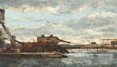 André Boubounelle. Friches industrielles à Red-Hook. http://galeriemezzo.com/artistes.php?bbj=6