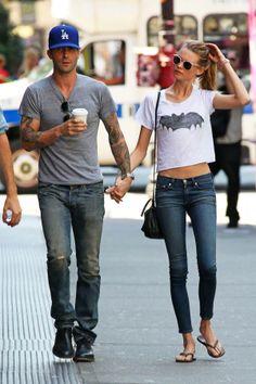 Love him. Want her shirt.