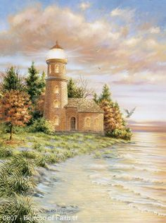 Beacon of Faith by Dona Gelsinger ~ lighthouse