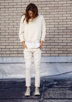 Your Perfect Look: TOTAL WHITE, LOVE IT!!!