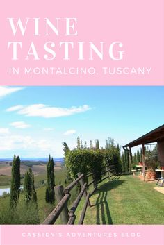 Sip wine in the gorgeous rolling hills of Tuscany, just like in those dreamy movies. Click here to it out here.