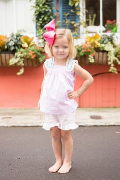 Lace Swing Top and Shorts - childrens clothing smocked heirloom bishop gowns