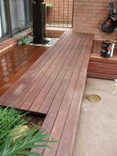 How to clean and oil merbau decking correctly