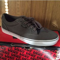 a7800c1552 Spotted while shopping on Poshmark  GREY VANS!  poshmark  fashion  shopping   style  Vans  Shoes