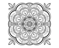 Mandala Designs To Color Free Sacred And Patterns Coloring Books For Adults Design Pages