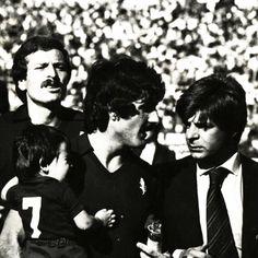 1978 Claudio Sala con Marcello Bonetto. Alle sue spalle Zaccarelli