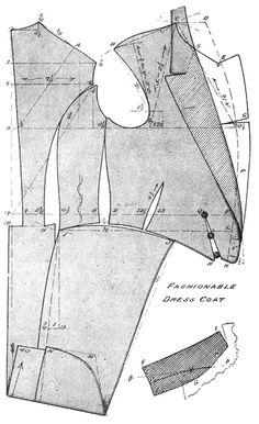 Dress Coat19 Pattern 1912