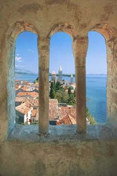 Croatia    Rab Tower Window, our tips on 25 places to visit in Croatia: http://www.europealacarte.co.uk/blog/2012/01/05/what-to-do-in-croatia
