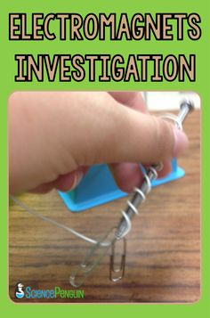 Electromagnets Investigation: How does the number of coils around the nail affect the strength of an electromagnet?  (Freebie included)