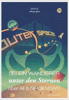 SPACECOWBOY Poster für coole Wände