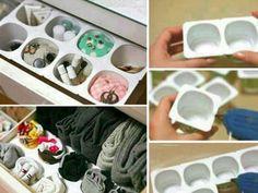 Ordenar cajón de ropa interior