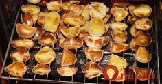 """Tieto zemiaky som pripravila len raz a odvtedy by sme ich jedli aj každý deň: """"Nafúknuté"""" zemiaky bez kvapky oleja a predsa chutnejšie ako hranolky!"""