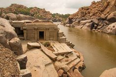 Travelling the world, one forkful at a time! Hampi India, Indian Temple, Hidden Places, India Travel, Incredible India, Bouldering, Travel Inspiration, The Incredibles, Adventure