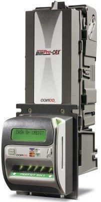Global Vending Group Inc. - BP2-CRX Coinco BillPro Bill Validator with Credit Card Swipe - New, $449.00 (http://www.globalvendinggroup.com/products/bp2-crx-coinco-billpro-bill-validator-with-credit-card-swipe-new.html/)