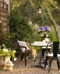 Balcon jardin patio